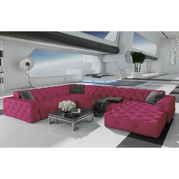 Canapé Lounge MESIA MINI v2 en rotin NATIVO™ mobilier France