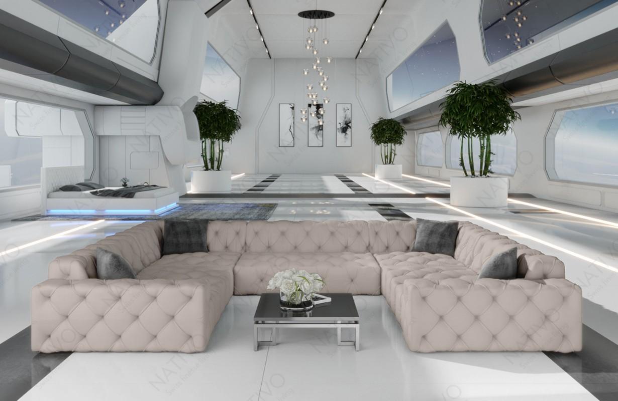 Canapé Design VENUS CORNER U FORM by ©iconX STUDIOS