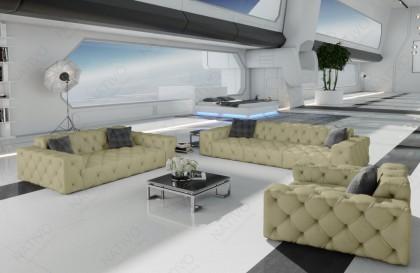 Fauteuil Lounge MESIA v2 en rotin NATIVO™ mobilier France