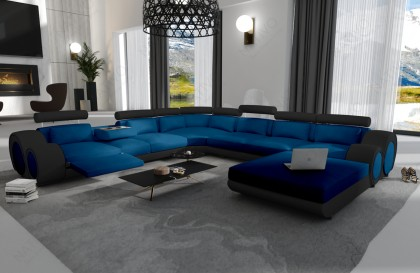 Canapé Lounge MATIS XXL en rotin