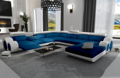 Canapé Lounge MATIS XL en rotin