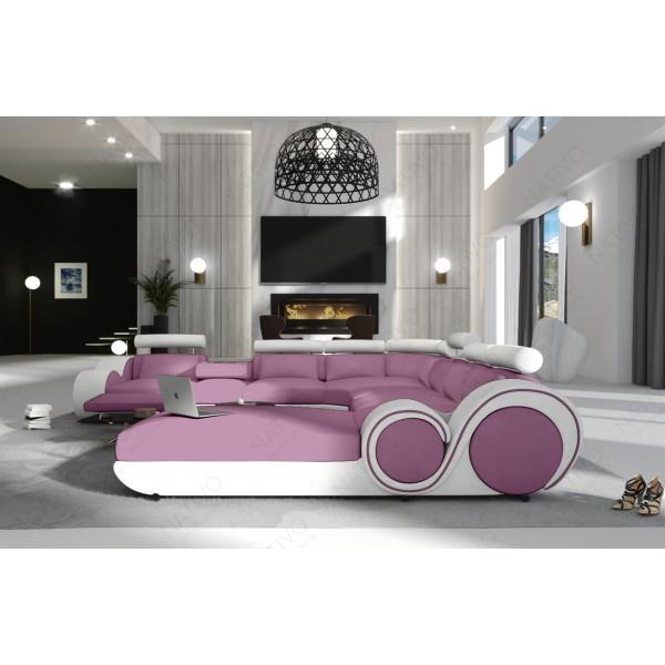 Canapé Lounge MATIS XL en rotin NATIVO™ mobilier France