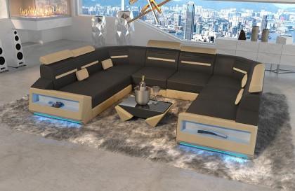 Canapé Design GREGORY XXL avec éclairage LED NATIVO™ mobilier France