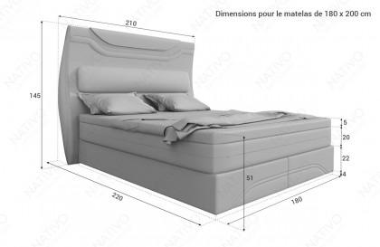 Canapé Lounge CLERMONT XL v1 en rotin