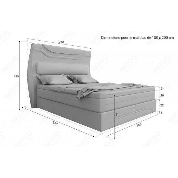 Canapé Lounge CLERMONT XL v1 en rotin NATIVO™ mobilier France
