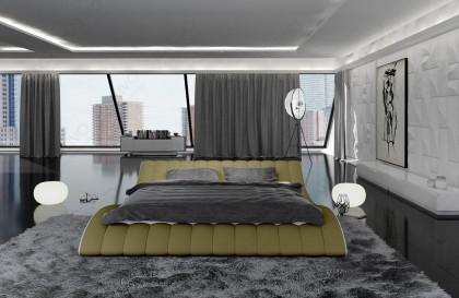 Canapé Lounge CLERMONT XL v2 en rotin