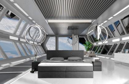 Canapé Lounge AVENTADOR CORNER v2 en rotin