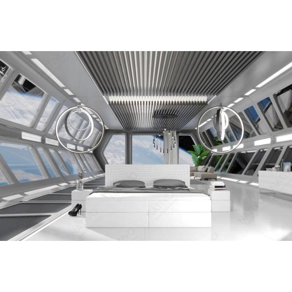 Canapé Lounge AVENTADOR CORNER v2 en rotin NATIVO™ mobilier France