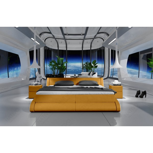 Canapé Lounge ATLANTIS MINI v2 en rotin NATIVO™ mobilier France