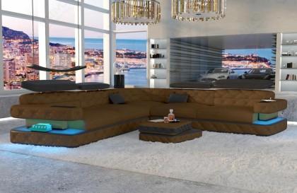 Canapé Lounge MIRAGE XL v2 en rotin NATIVO™ mobilier France