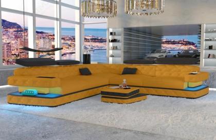 Canapé Lounge MIRAGE CORNER v2 en rotin NATIVO™ mobilier France