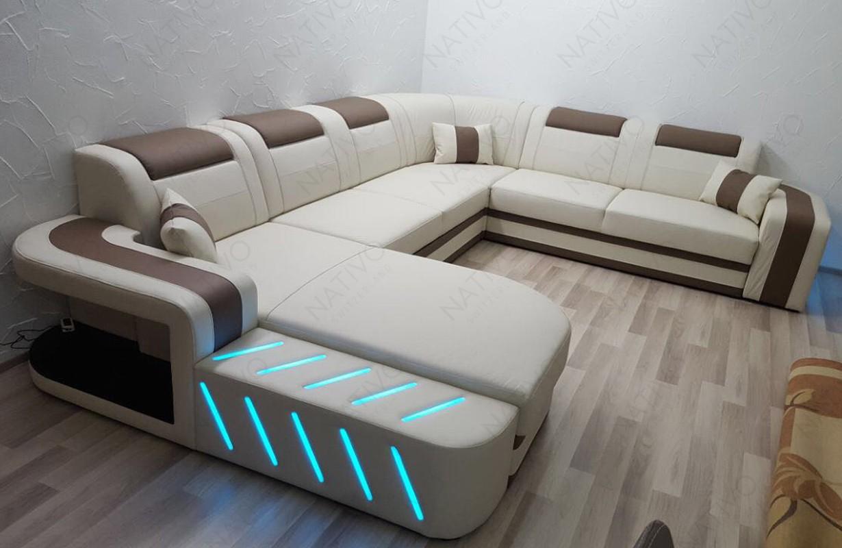 Canapé Design avec éclairage LED