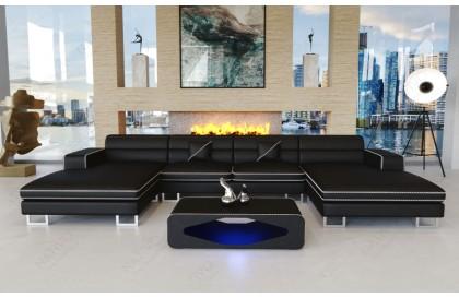 Fauteuil Design MYSTIQUE avec éclairage LED et port USB NATIVO™ mobilier France