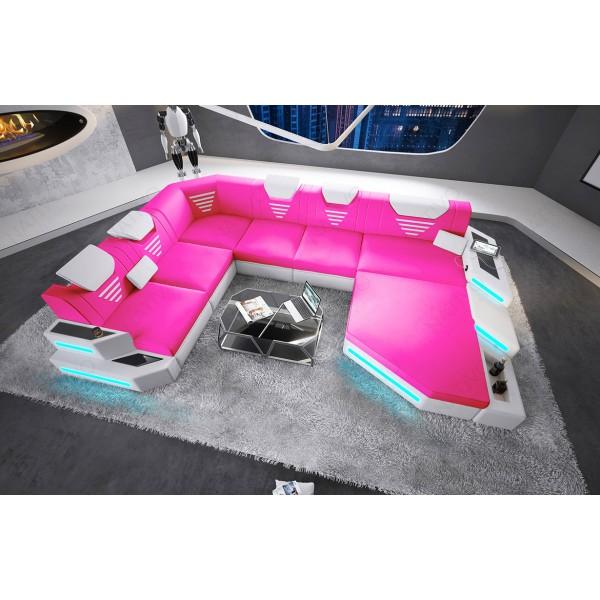 Canapé Design ATLANTIS avec éclairage LED