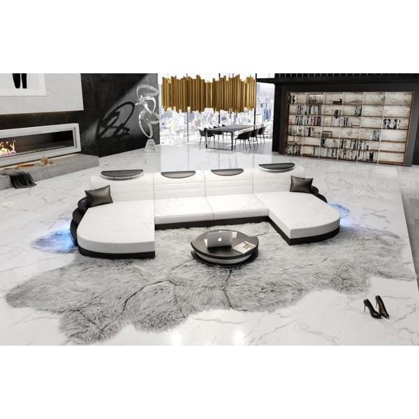 Canapé Design 2 places AVENTADOR avec éclairage LED NATIVO™ mobilier France