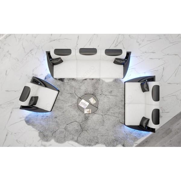 Fauteuil Design CESARO avec éclairage LED NATIVO™ mobilier France
