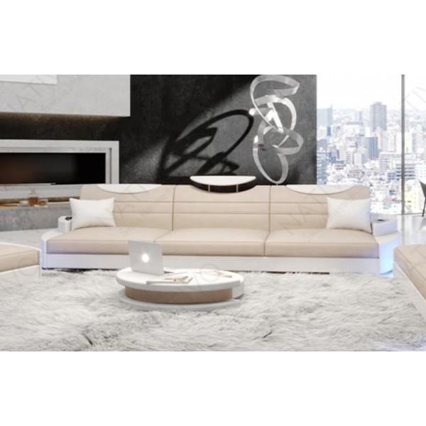 Canapé Design 3 places IMPERIAL avec éclairage LED NATIVO™ mobilier France