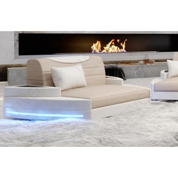 Canapé Design 2 places IMPERIAL avec éclairage LED NATIVO™ mobilier France