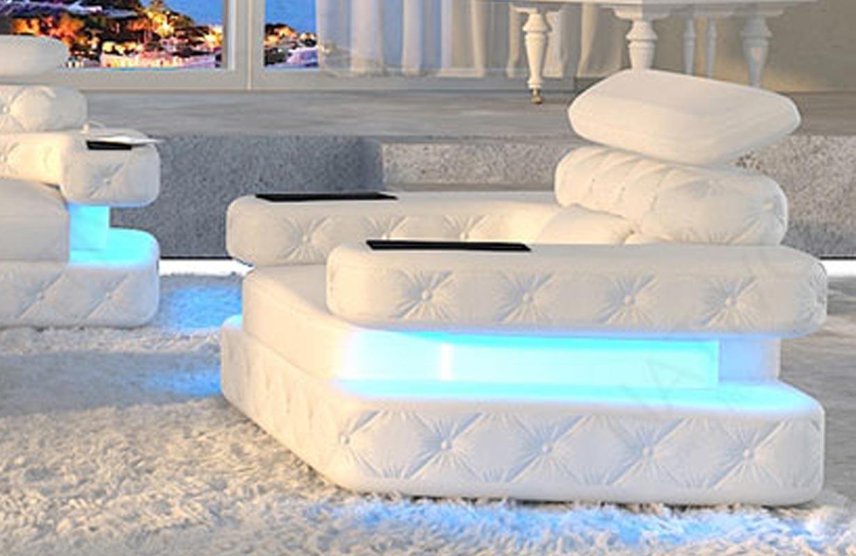 Fauteuil Design EXODUS avec éclairage LED et port USB