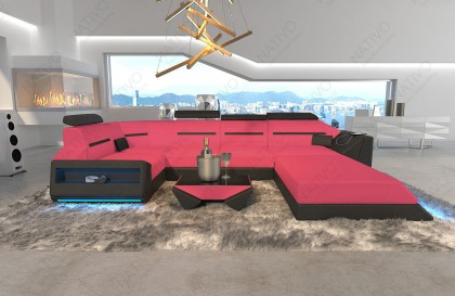 Salon Lounge en rotin FELIX jardin (6 pièces) V2
