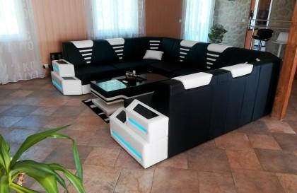 Salle à manger en rotin VICITA jardin (7 pièces) V1