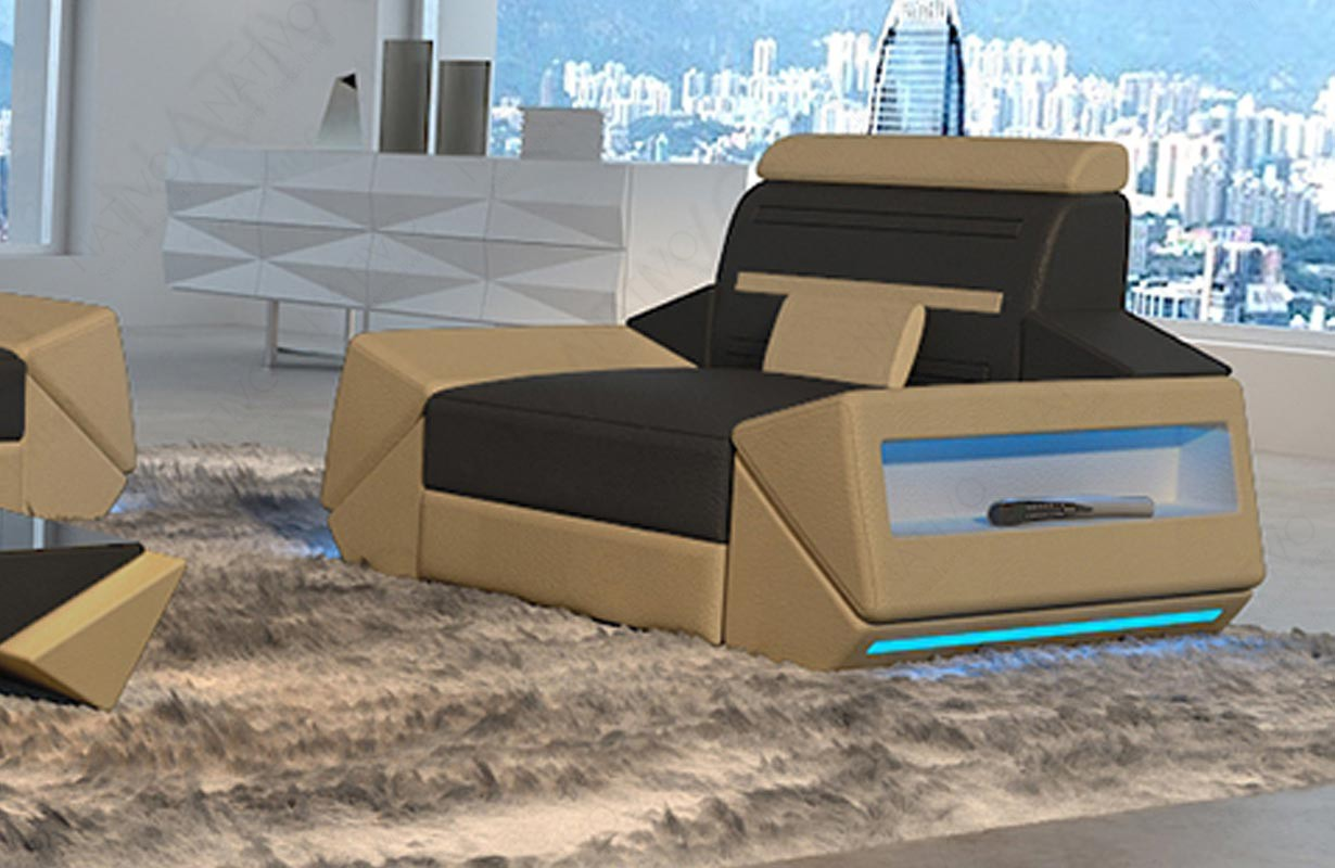 Fauteuil Design AVATAR avec éclairage LED et port USB