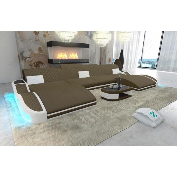 Canapé Design BARCA 3+2+1 avec fonction relax