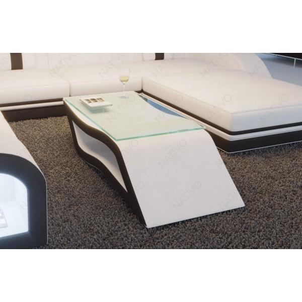 Canapé Design CAREZZA avec éclairage LED