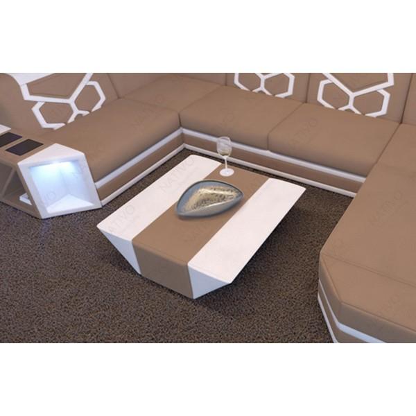 Canapé Design CAREZZA XL avec éclairage LED