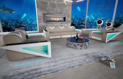 Canapé Design ALBA - disponible immédiatement