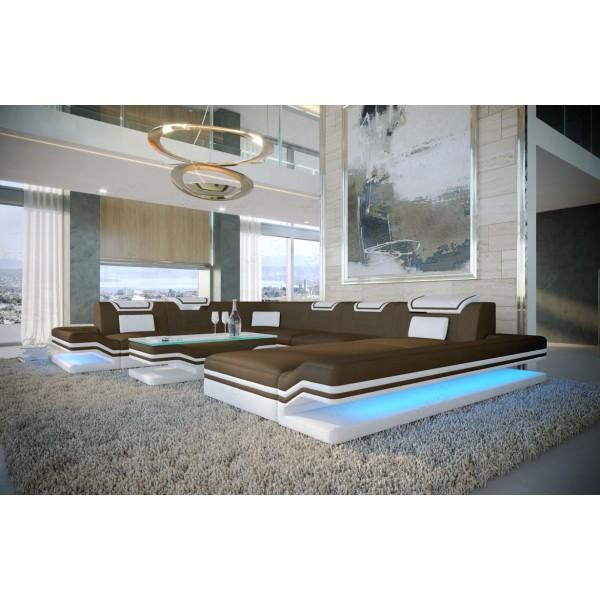 Canapé Design MESIA MINI avec éclairage LED