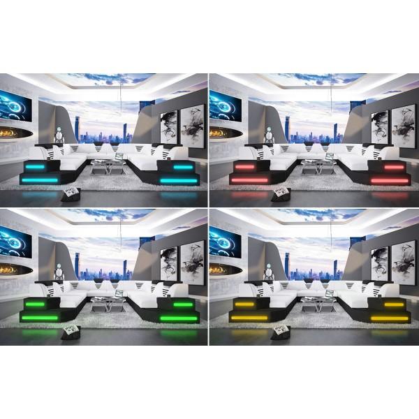 Canapé Design MIRAGE XL avec éclairage LED