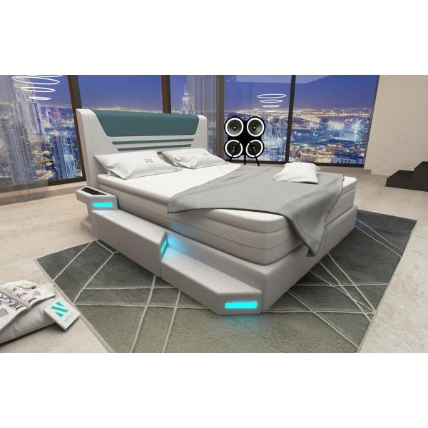 Canapé Design HERMES CORNER avec éclairage LED