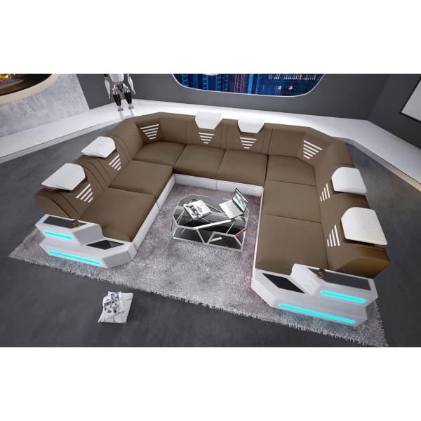 Canapé Profond SKYLINE avec éclairage LED