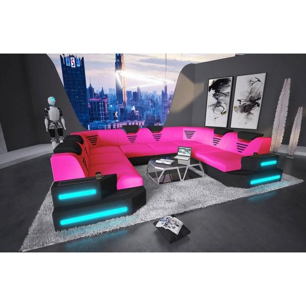 Canapé Profond VICE avec éclairage LED