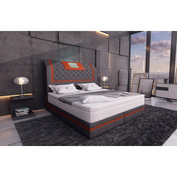 Canapé Design CLERMONT XL U avec éclairage LED