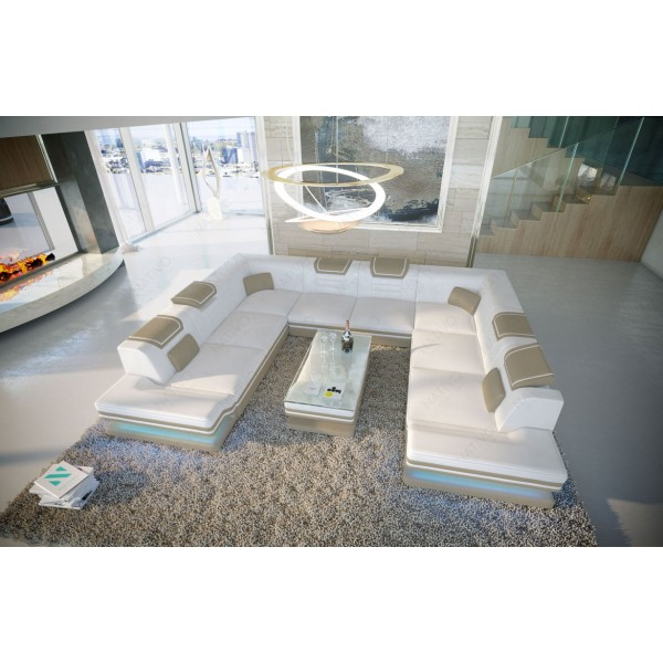 Canapé CHESTERFIELD WHITE 2 Places
