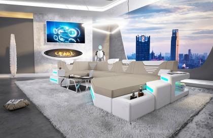 Canapé Design CANTA avec étagères