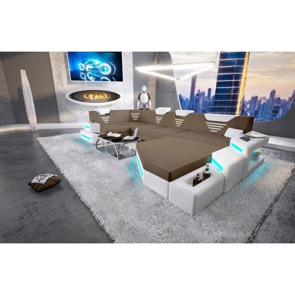 Canapé Design BARACUDA 3+2+1 avec fonction relax