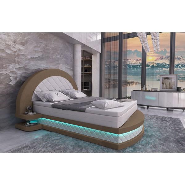 Canapé Design ROYAL XL avec éclairage LED et port USB