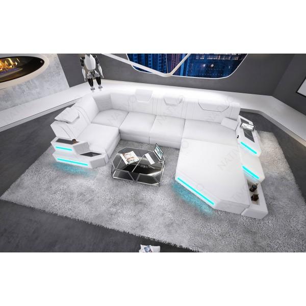 Canapé Design ATLAS avec tabouret