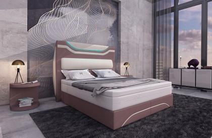 Canapé Design ROYAL CORNER U FORM avec éclairage LED et port USB