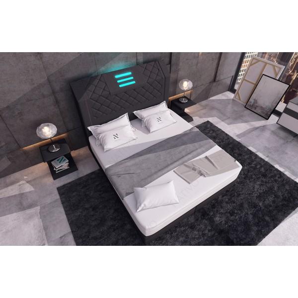 Canapé Design ROYAL MINI avec éclairage LED et port USB